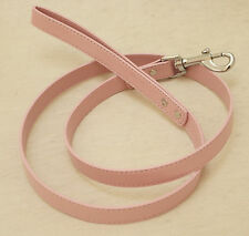 Pink dog Leash, Pet accessory, Pink Leather leash,  Dog Lovers, Dog Leash
