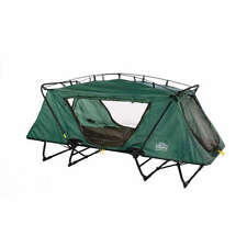 Kamp Rite Oversize Tent Cot & Rainfly XL Camping Bed Shelter Portable Single 1 P