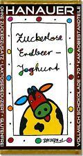 """ZUCKERLOS!! STEVIA SCHOKOLADE """"ERDBEER - JOGHURT """" z.B. für DIABETIKER (#327)"""