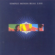 SIMPLE MINDS Real Life, original issue CD, 1991, OOP, VG+