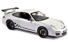 Porsche 911 gt3 RS 2010 White + Black Trim norev 1:18 187561