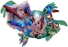 KOALA KINGDOM 1000Pc SHAPED  Puzzle!   Nature Wildlife  SunsOut