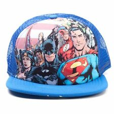 Justice League America Cap Mütze DC Comics Trucker Schirmmütze Batman Superman