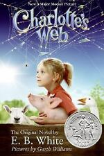 Charlotte's Web Movie Tie-in Edition (hardcover)-ExLibrary