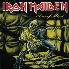 IRON MAIDEN PIECE OF MIND ENHANCED REMASTERED CD NEW