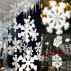 NEW Wall Windows Decor Christmas 3D Foam Snowflake Hanging Decorations 16cm