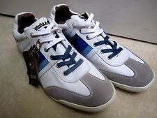 PANTOFOLA D'ORO White Sneakers Shoes Size 48 Euro / 15 US Made in Italy
