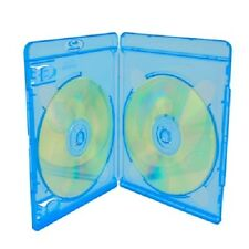 NEW ONE (1) VORTEX ECO-LITE BLU-RAY DOUBLE DISCS CASE REPLACEMENT STORAGE BOX