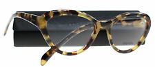 New Prada Eyeglasses Women VPR 25R Tortoise 7S0-1O1  CINEMA 54mm