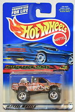 HOT WHEELS 2000 ATTACK PACK SERIES #021 NISSAN TRUCK