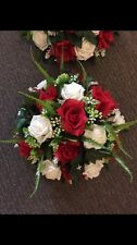 ANY COLOUR wedding Table Centrepiece Round Posy Artificial Foam Flowers Roses