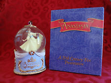Anastasia Waterglobe 1997 ONCE UPON A DECEMBER San Francisco Music Box Co EUC