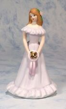 Growing up Girls from Enesco Brunette Age 16 Figurine 6.5 IN , New, Free Shippin