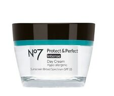 Boots No7 Protect & Perfect Intense Day Cream - New In Box & Full Size