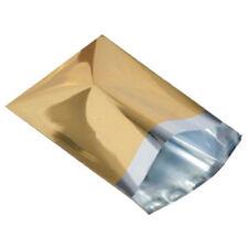 "25 Metallic Gold 6.5""x9"" Mailing Postage Postal Bags"