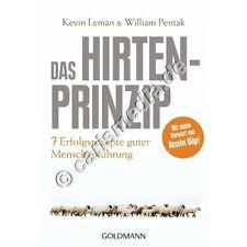 DAS HIRTEN-PRINZIP - 7 Erfolgsrezepte guter Menschenführung *NEU*
