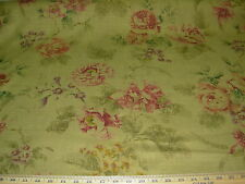 """~12 YDS~COVINGTON~FLORAL """"ROSSELINI""""~COTTON UPHOLSTERY FABRIC FOR LESS~"""