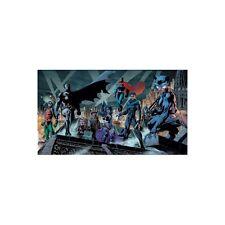 JIM LEE rare HEROES paper giclee BATMAN huge HUSH WB art COA!!