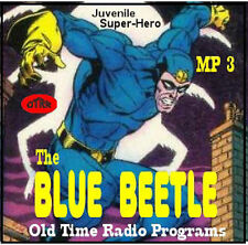 BLUE BEETLE SUPER HERO OLD TIME RADIO SHOWS MP3 CD