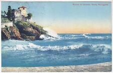 GENOVA CITTÀ 494 NERVI - MAREGGIATA Cartolina VIAGGIATA 1921