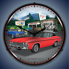 1969 Chevelle Wall Clock, Lighted