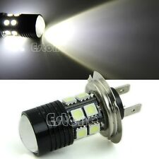 Super Bright H7 12-LED White XP-E SMD LED 12V Car Fog Light Bulb Lamp