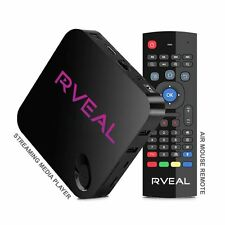 Rveal Media TV Tuner & Air Mouse Remote [Android, 4K, Quad-Core]