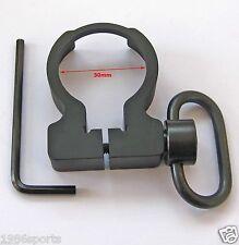 Quick Detach QD Sling Swivel  Clamp-on Single Point Sling buffer tube Adapter