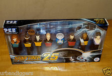1103/ Sealed STAR TREK Collectors SERIES PEZ Candy Set Limited Edition NOS
