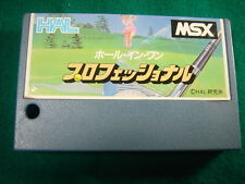 Hole in one Professional MSX CARTRIDGE ONLY