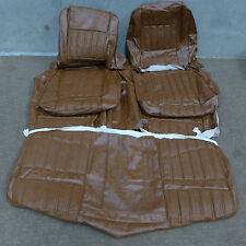Ford XY GT GS Falcon Seat covers saddle robuck vinyl front and back full set