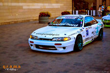Nissan 200sx S14 Silvia Rocket Bunny Style Basic Body Kit for Racing, Drift v4