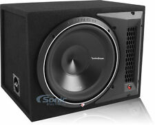 "NEW Rockford Fosgate P3-1X12 12"" Punch Loaded Car Subwoofer Box 1200 Watt Sub"