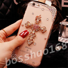 Glitter Luxury Crystal Bling Rhinestone Diamonds Soft Silicone Case Cover AB-3