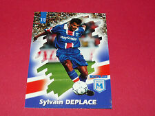 PANINI FOOTBALL CARD 98 1997-1998 SYLVAIN DEPLACE SC MONTPELLIER HERAULT MHSC