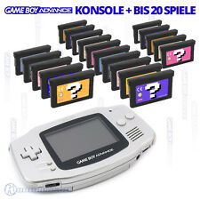 Nintendo GameBoy Advance GBA Console among other things with Super Mario,Pokemon