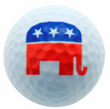 Republican Elephant Golf Ball Novelty Golfer Gift For Golfing USA Election 2016
