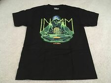 IN4MATION TEE SHIRT BLACK MEDIUM M VINTAGE aloha army farmers market