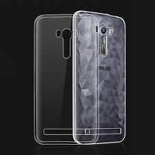 "For ASUS Zenfone Selfie ZD551KL 5.5"" Clear Ultra Thin Gel skin case cover"
