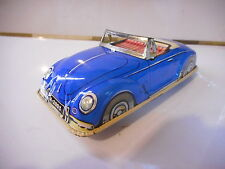COX JOYAX VW VOLKSWAGEN COCCINELLE JOUET TOLE CAR TIN TOY  BEETLE KAFER FRICTION