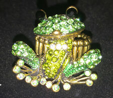 Frog stretch ring cute animal bling  jewelry