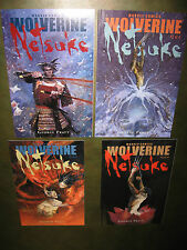 Wolverine Netsuke 1 2 3 4 Complete 2002 Limited Series 1-4  NM- copies! 12 pix!!