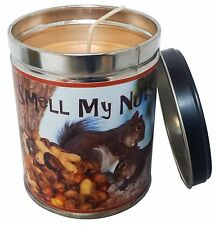 Banana Nut Bread Scented 13oz Tin Candle w/ Nuts Label by Our Own Candle Company
