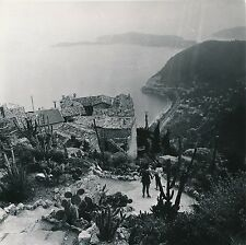 EZE c. 1950 - Vue Surplomb Terrasse Alpes Maritimes - DIV 8071