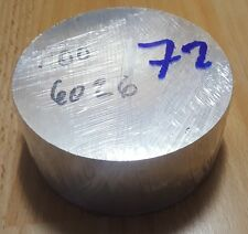 Aluminum Bar Stock Block Round 6026 - 100mm x 40mm - 72