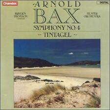 Arnold Bax Symphony No. 4 TINTAGEL CD Thomson Ulster Orch Chandos WEST GERMANY