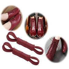 New Round Coloured Shoe Laces Colours Shoelaces Football Boots Trainer Hiking