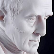 Duke of Wellington Bust, by Joseph Pitts, Carrara Marble Sculpture. Made in UK.
