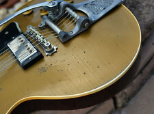 Gibson Bigsby Plate incl. Pointed Posts Gold- Super rare!