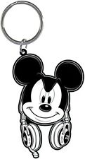 Disney Mickey Mouse Headphones Head Phones Key Ring Chain Keychain Keyring